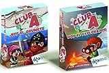 Pack 2 Juegos Club A: Jeff el Grumete y Bob el Explorador. Juegos educativos