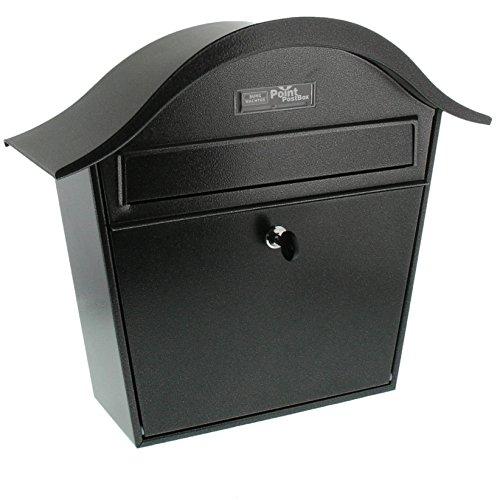 BURG-WÄCHTER Briefkasten, A5 Einwurf-Format, Verzinkt, Stahlblech, Holiday 5842 E, Eisen