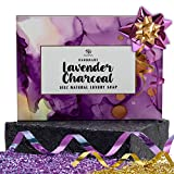 Charcoal Soap Bar - Organic Face & Body Wash.Gentle Exfoliating Cleanser For Women,Men & Teens.Natural Soap That is Good For All Skin Types Even Dry & Sensitive Skin.Good Shaving Soap. Great Gift Idea