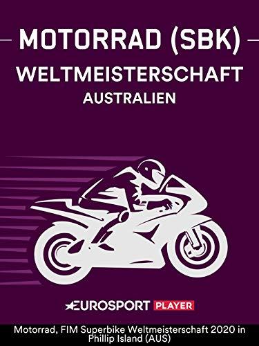 Motorrad: FIM Superbike Weltmeisterschaft 2020 inPhillip Island (AUS)