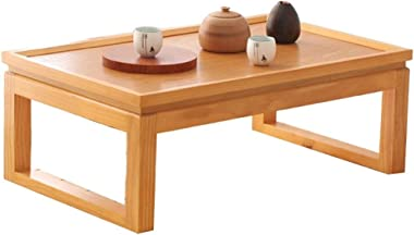 Solid Wood Coffee Table Living Room Low Table Balcony Tea Table Home Wood Table Laptop Table (Color : C, Size : 60X40X25CM)