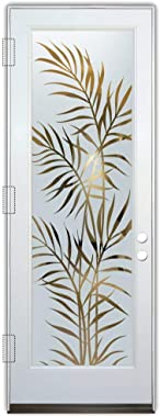 Glass Front Entry Door Sans Soucie Art Glass Ferns
