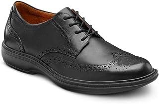 توری چرمی کفش کفش Comfort Wing مردان ، دیابتی درمانی با عمق زیاد
