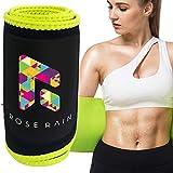 ROSE RAIN Sweat Band Waist Trainer for Women Sweat Belt for Men Waist Trimmer Weight Loss