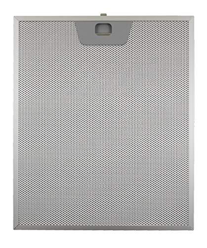 Filter Dunstabzugshaube Aluminium metallisch 25,5x 30,0x 8mm FABER