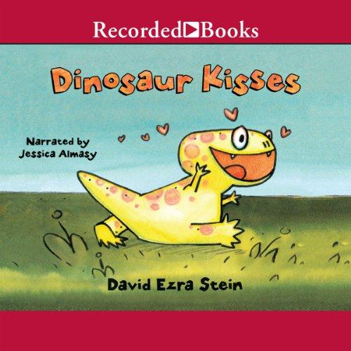 Dinosaur Kisses audiobook cover art