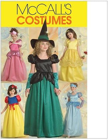 McCalls Costumes Kids 3-8 /& Adult S-XL Minion Princess Doctor Ninja Sew Pattern