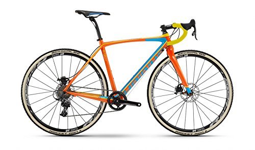 Haibike Noon 8.50 28 Zoll Cyclocross Orange/Blau/Gelb (2016), 48