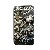 Iphone6 Iphone6s 携帯ケース ガラス スマホケース メタリカ Metallica Tpu 全面保護カバー 背面強化ガラスの携帯保護カバー 強化ガラスケース シリコン ミラー 滑り防止 耐衝撃 黄変防止 高級感 手触り良い 耐摩擦