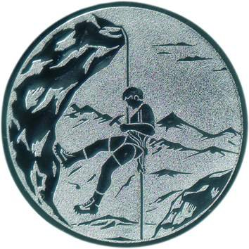 FABRIKSTORES GmbH Pokal Emblem Bergsteigen - 50 mm/Gold