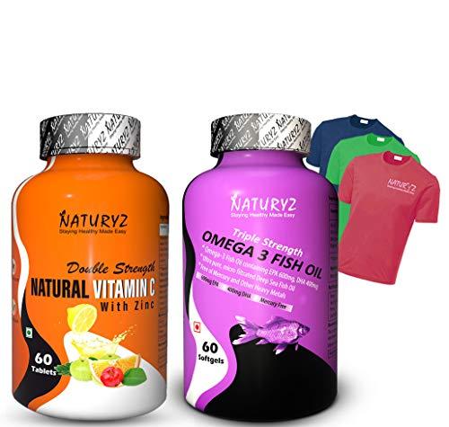 Naturyz Vitamin C (Natural Vitamin c with Fish Oil)