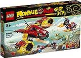 LEGO Monkie Kid 80008 Monkie Cloud Jet per bambini