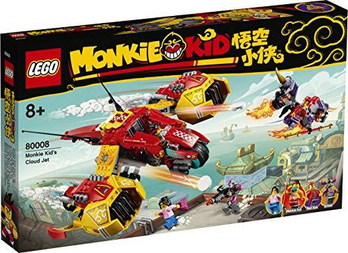 LEGO Monkie Kid 80008 Monkie Cloud Jet Niño