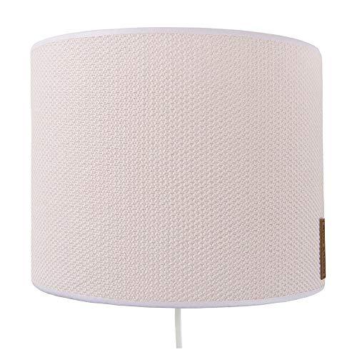BO Baby's Only - Wandlampe für Babyzimmer aus Baumwolle - 25x10x20 cm - für Mädchen - Klassisch Rosa
