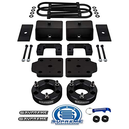 "Supreme Suspensions - Silverado Lift Kit 3.5"" Front Suspension Lift + 3"" Rear"