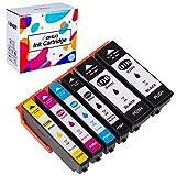 Hehua 33XL Compatible Cartouches d'encre Remplacer pour Epson 33XL pour Epson...