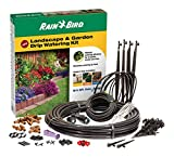 Rain Bird LNDDRIPKIT Drip Irrigation Landscape & Garden Watering Kit with Drippers, Micro-Bubblers and Micro-Sprays