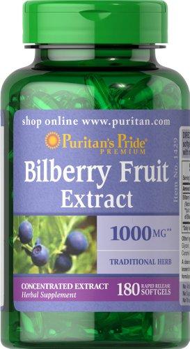 Puritan's Pride 2 Pack of Bilberry 1000 mg Puritan's Pride Bilberry...