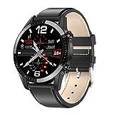 Padgene Smartwatch con Llamadas Bluetooth, IP68 Impermeable Reloj Inteligente, Pulsera de Actividad con Monitor de Sueño, Ritmo Cardíaco, Podómetro, Notificación de Mensaje para Android e iOS