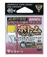 がまかつ(Gamakatsu) シングルフック A1 ボトムマスター 白 10号 13本 68389