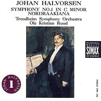 Johan Halvorsen: Symphony No.1; Nordraakiana