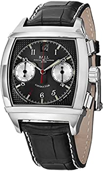 Ball Conductor Chronograph II Automatic Black Dial Men's Watch