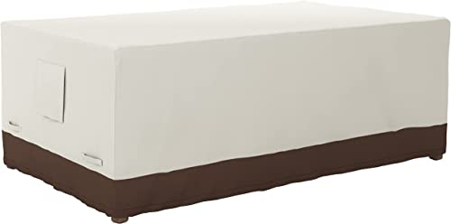 Amazon Basics - Funda protectora para mesa de comedor (190.5cm)