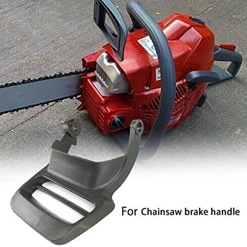Für Husqvarna 435 440 445 450 Handschutz Bremse Kettensäge Bremsgriff 54425150 Langlebiger grauer Kunststoff Einfaches Design - Grau