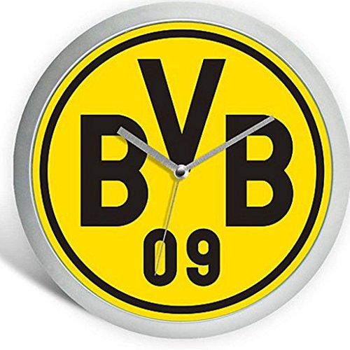 Borussia Dortmund - Wanduhr Logo - Uhr Ø 25 cm BVB 09