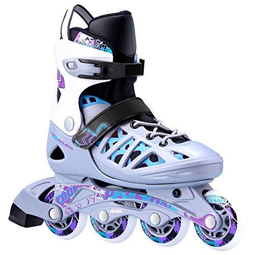 AILUNHUA Adult/Youth/Kids Inline Skates Adjustable Outdoor Speed Roller Skates Inline Skates