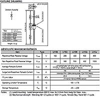 日立パワーデバイス(HITACHI) 一般整流ダイオード U15G (20個入)