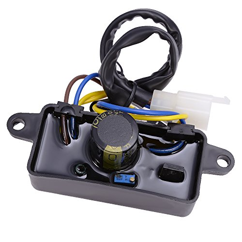 Hoypeyfiy Voltage Regulator AVR For 3500 3550 3600 4500 4550W 6-7hp Generator Replace 290440009-02 AVR