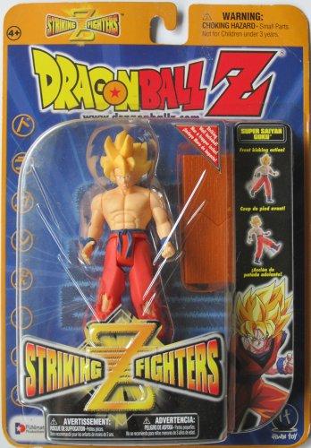 """Dragonball Z - Striking Z 5"""" SS GOKU w/KICKING ACTION FIGURE - IRWIN TOYS image"""
