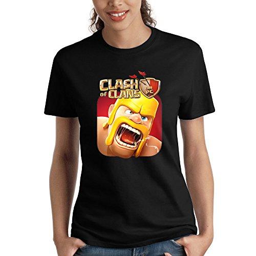 GAME Camiseta para Mujer con el Logotipo de Clash of Clans Barbarian