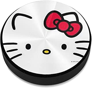 Hello Kitty Aluminium Alloy Magnetic Car Mount, Magnetic Car Mount Phone Holder,for Cell Phones and Mini Tablets Suit for Any Phone