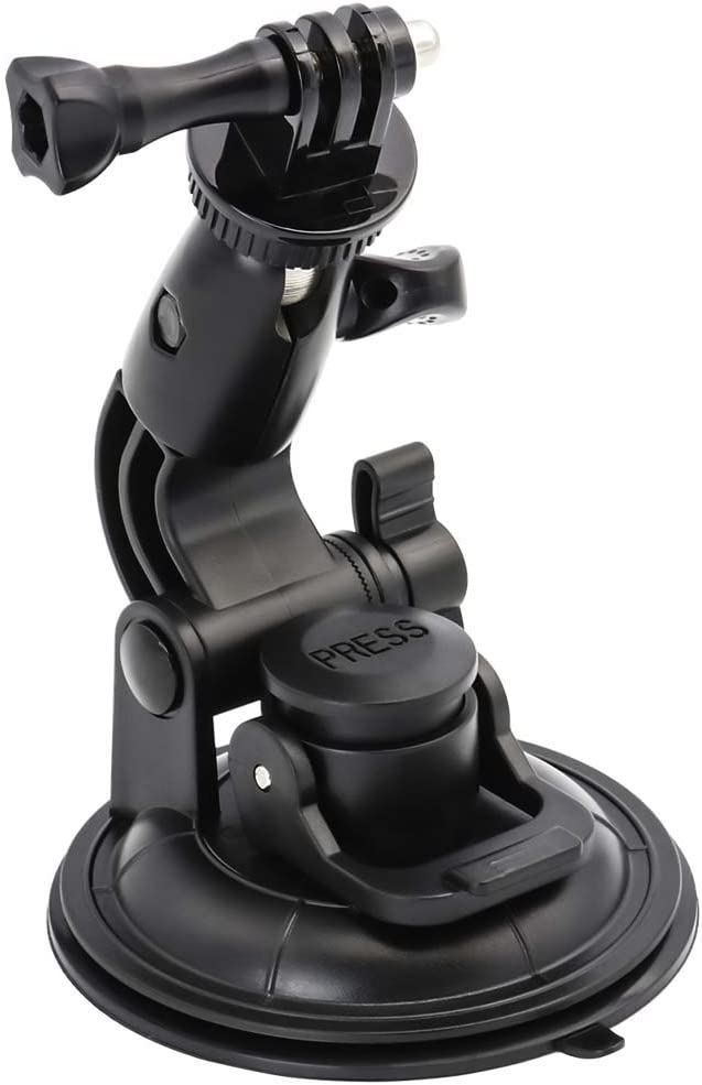 EXSHOW Big Max 57% OFF Suction Cup Mount with 4-20 1 Adapter Hero Gopro for Albuquerque Mall