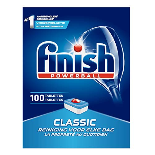 Finish Powerball Classic tabletas para lavavajillas (100 unidades)