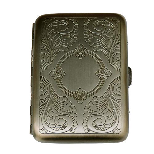Ströbel Hübsches schmales Zigarettenetui Metall ZE330 (Cigarette case)