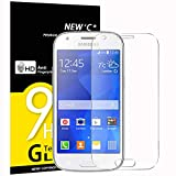 NEW'C Lot de 3, Verre Trempé pour Samsung Galaxy ACE4, Film Protection écran - Anti...