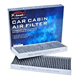 POTAUTO MAP 2004C (CF10553) Replacement Activated Carbon Car Cabin Air Filter for NISSAN, Frontier, NV1500, NV2500, NV3500, Pathfinder, Xterra, SUZUKI, Equator (Upgraded with Active Carbon)
