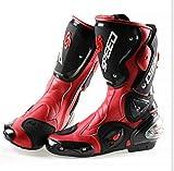 Botas de moto de Pista Racing profesionales, antideslizantes, transpirables, impermeables,...