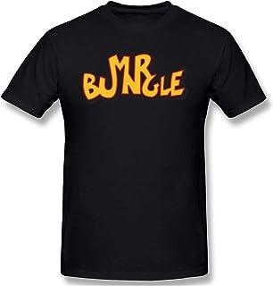 Mr.Bungle Camiseta Hombre Manga Corta O Cuello Camisetas Tops Negro