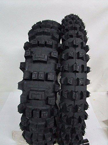 Par de tren acoplado neumáticos Cross Michelin AC 10 80/100-21 110/90-19