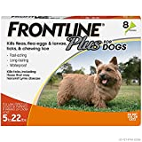 FRONTLINE Plus Flea and Tick Treatment for...
