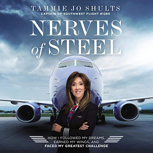 Nerves of Steel audiobook cover art