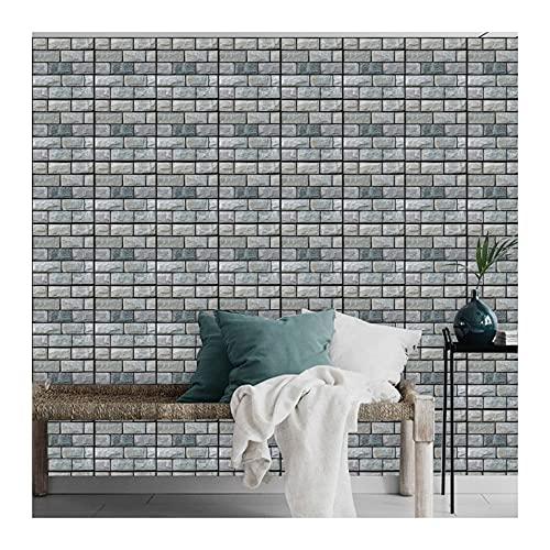 Patrón de piedra,5 hojas,60*60CM,Adhesivos de pared,3D,Autoadhesivo,Espuma gruesa,Impermeable,Pared de sala de estar y Dormitorio y fondo,Decoración,Decoración,Arte,Bricolaje,Decoración del hogar