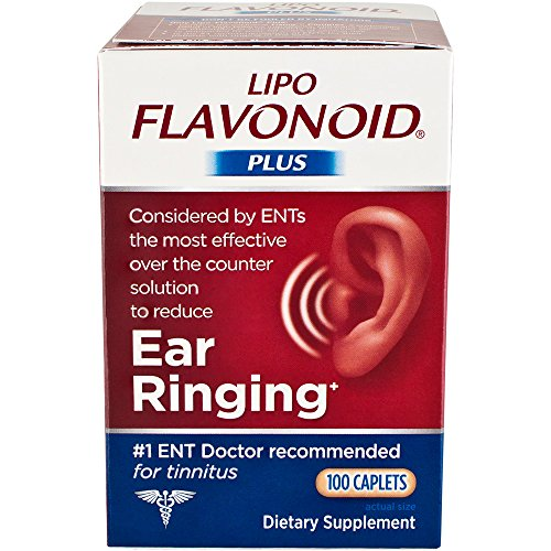 Lipo-Flavonoid Plus Dietary Supplement, For Ear Health 100 ea Pack of 3