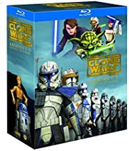 Star Wars: The Clone Wars (Seasons 1-5) - 15-Disc Box Set ( Star Wars: The Clone Wars - Seasons One, Two, Three, Four & Five ) (Blu-Ray)