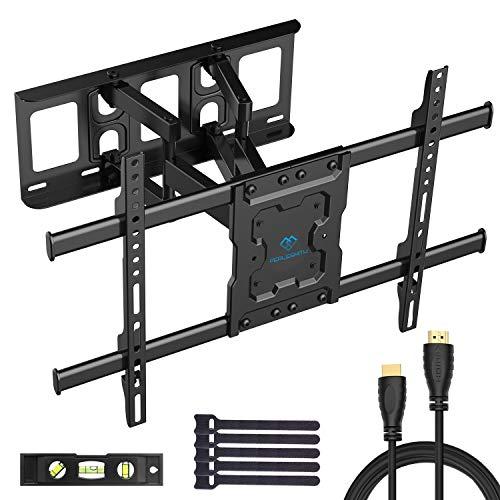 *TV Wandhalterung Schwenkbar Neigbar max.VESA 600x400mm für 37-70zoll Flach & Curved Fernseher oder Monitor bis zu 60kg*