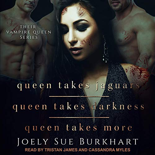 Queen Takes Jaguars, Queen Takes Darkness, & Queen Takes More audiobook cover art
